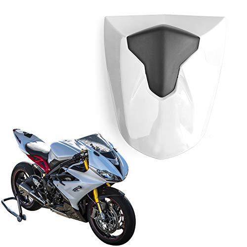 Topteng Motorrad Hinten Sozius-Sitz, Motorrad Fondpassagier Soziusabdeckung ABS Pad Motor Verkleidung Heckabdeckung für Tri-umph Da-ytona 675 675R 2013-2017