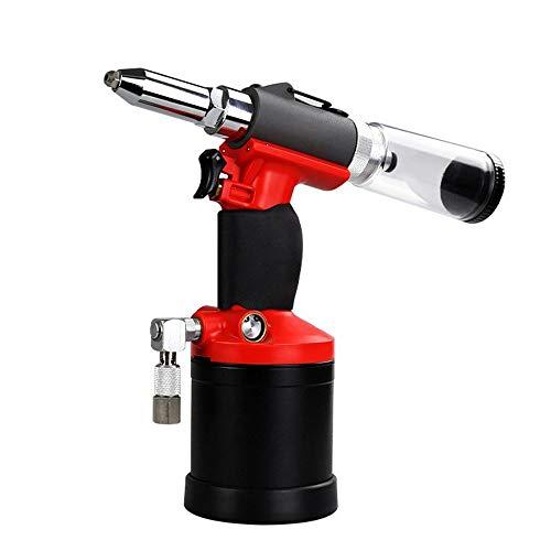 Herramientas neumáticas Pistola neumática de remache de succión de presión de aceite, clavo de succión automático y clavo posterior Para reparación de automóviles