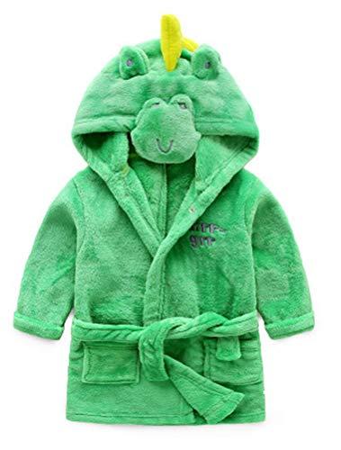 Odziezet Kigurumi Pigiama Flanella con Cappuccio da Unisex Bambino Inverno Animale Cosplay Costume 0-7 Anni