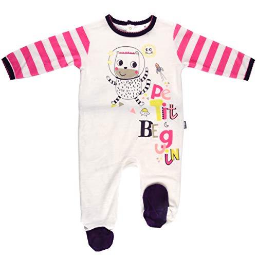 Pyjama bébé velours Youpi - Taille - 36 mois (98 cm)