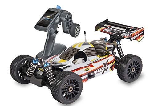 Carson 500204035 1:8 CY Specter X 3 Pro V36 2.4G RTR, Ferngesteuertes Auto, Fahrzeug, weiß, RC Benzin