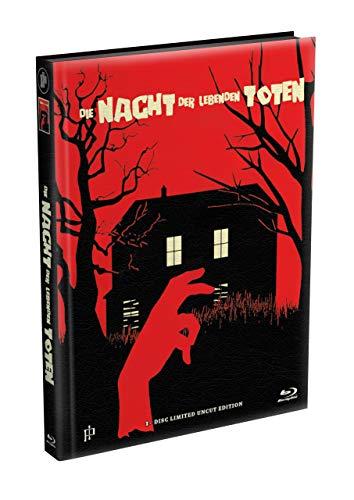 DIE NACHT DER LEBENDEN TOTEN (1968) - wattiertes Mediabook - Cover R [Blu-ray] Limited 22 Edition - Uncut
