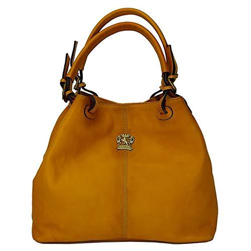 Pratesi Collodi kleine Damentasche - B168/P Bruce (Senf)