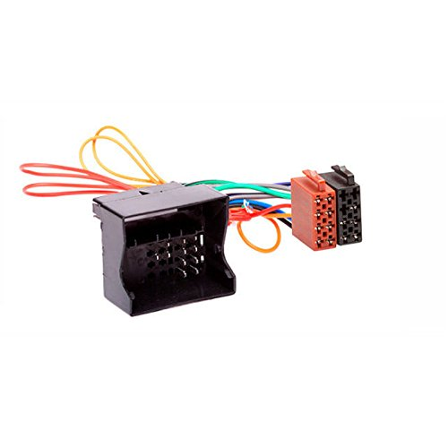 CARAV 12-023 ISO Adapter Cable. Radio Adapter for Focus, Fiesta, Fusion 2005+; Mondeo, C-MAX 2003+; Transit 2006+; Kuga 2008+