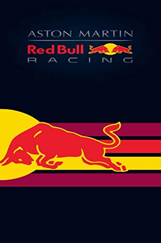 ASTON MARTIN RED BULL RACING: Great Journal / NOTEBOOK / 120 pages / Lined Journal 6x9 / 120 Pages