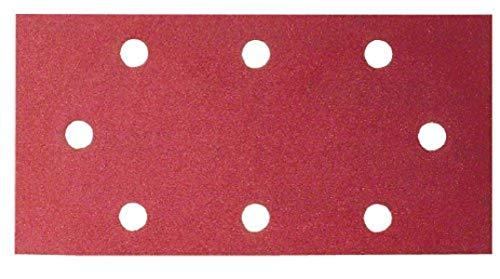 Bosch 10tlg. Schleifblatt-Set (für Schwingschleifer verschiedene Materialien, 93 x 185 mm, Körnung 60/120/180)