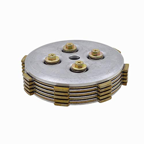 Motorcycle Center Clutch Drum Assembly with Friction Pressure Plate for Yamaha Jy110 Jy 110 F8 Crypton 105E Spare Parts