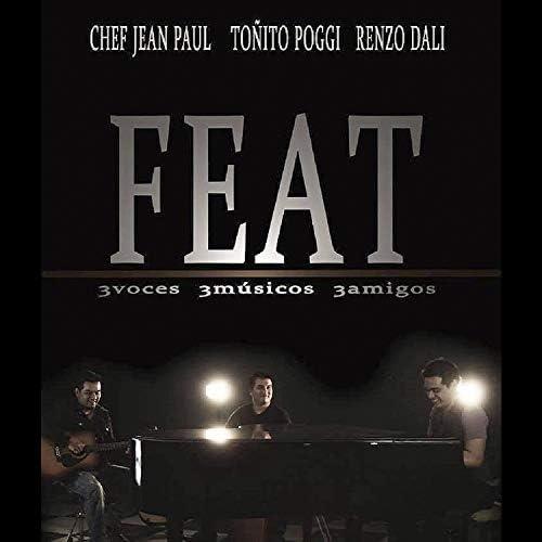 Feat, Chef Jean Paul, Toñito Poggi & Renzo Dali