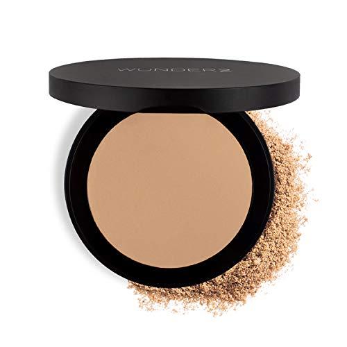 Wunder2 GO BEYOND FOUNDATION Makeup Pressed Powder Natural Cream...