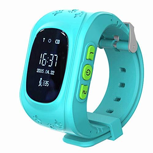 Kids Smart Watch SmartWatch Podómetro Reloj Deportivo Soporte Multi-Language, Reloj multifunción con Memoria Deportiva, Adecuado para niños,Six