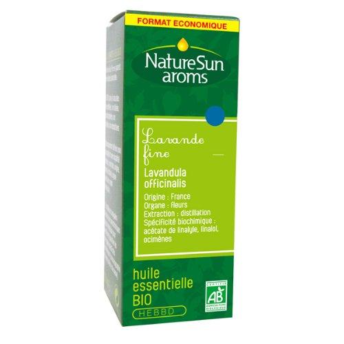 Naturesun aroms - Huile essentielle lavande fine bio - 30 ml huile essentielle - Contre le stress