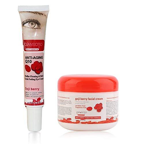 IBISHITAOXUNBAIHUOD Smooth níspero de ojos/cara crema blanquea cuidado de la piel anti-arrugas...