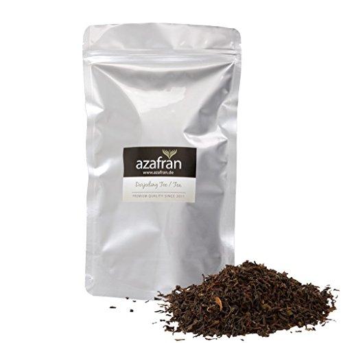 Azafran Schwarzer Tee - Indischer BIO Darjeeling Schwarztee lose Second Flush 250g