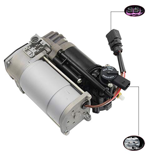 Air Compressor Compatible with Audi A6 A8 S8 RS8 Bentley Mulsanne 2.0 3.0 TFSI, Replace# 4H0616005 3Y0616006 AKWH