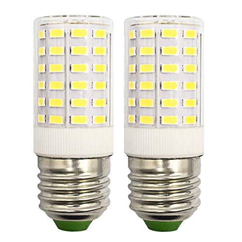 9W Maiskolben E27 LED Kaltweiß 6500K Entspricht Halogen 75W - 100W 100V-265V Nicht Dimmbar Kandelaberleuchte - 2er-Pack [MEHRWEG]