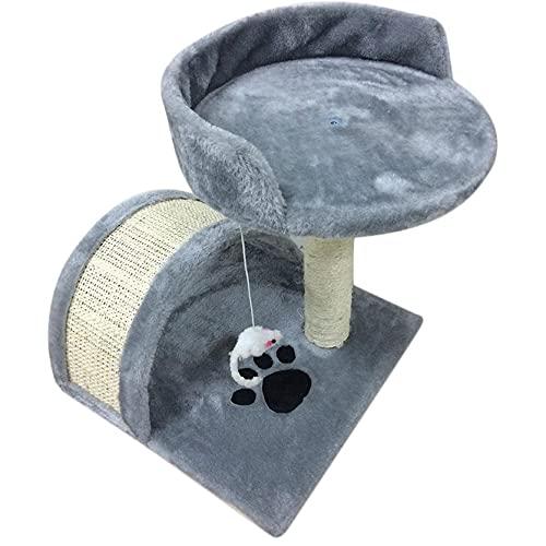 Libarty Poste rascador para Mascotas Árbol de Gato Duradero Marco de Escalada para Gatos Transpirable Muebles de Juego para Mascotas universales