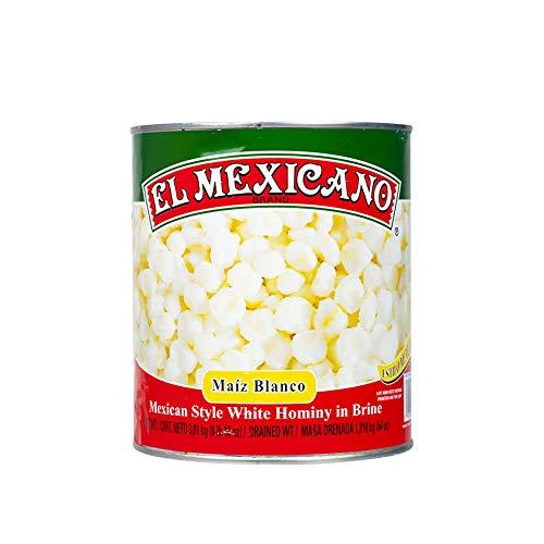 Mais Bianco Messicano, Lattina 3010g - Peso Sgocciolato 1810g - Maíz Blanco EL MEXICANO, 3010g