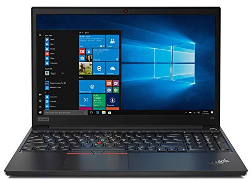 "Laptop Authority Lenovo ThinkPad E15 Performance Business Laptop: Intel 10th Gen i7-10510U Quad-Core, 16GB RAM, 1TB NVMe SSD, 15.6"" FHD 1920x1080 IPS Display, Fingerprint, Win 10 Pro, Black"