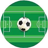 Fußball Thema - 5 Runde Tortenaufleger 20CM - Geburtstag Tortenbild