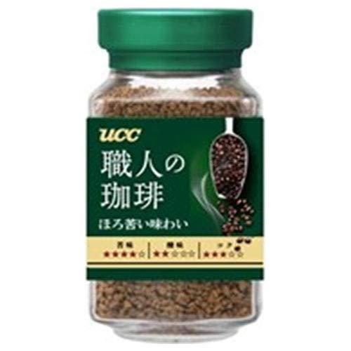 UCC 職人の珈琲 ほろ苦い味わい90g瓶×12本入×(2ケース)