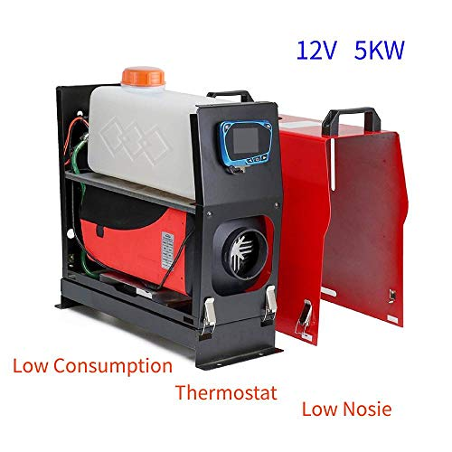 New CARESHINE 5KW Air Heater All in One 1 Air Outlet Diesel Heater 12V Remote Control Parking Heater...