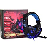 The Gaming Generation Gaming Headphones with RGB LED Effect and Noise Cancellation Feature