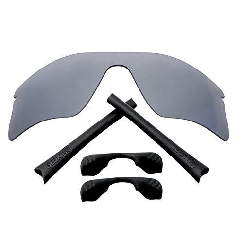 Accesorios de lentes compatibles con OAKLEY RADAR RANGE Plata & Negro