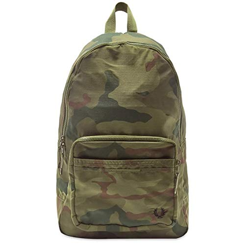 Fred Perry x Arktis Camo Backpack Iris Tundra Camo-Mochilas