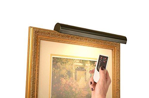 Concept Lighting 303L Cordless LED Remote Control Picture Light, 18', Matte Black