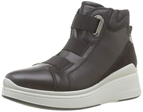 IGI&CO Donna-41418, Sneaker a Collo Alto Donna, Nero (Nero 4141800), 38 EU