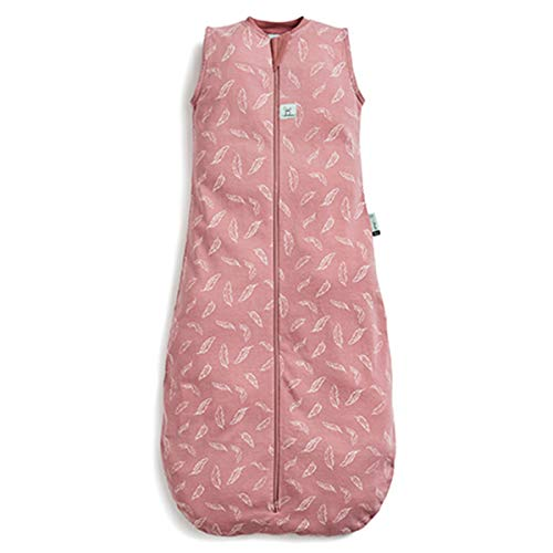 ergoPouch Cocoon, Schlafsack Baby, Pucksack Baby, Strampelsack, Wärmereguliering - Tog 2.5 - Pink - 0-3 Monate