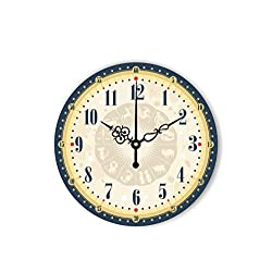 Modern Home Decoration Wall Clock Fashion Large Decorative Wall Clock Watch for Living Room Study Room Decor,Style 4,16Inch 40Cm
