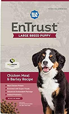 Blue Seal EnTrust Large Breed Puppy Chicken Meal & Barley Recipe