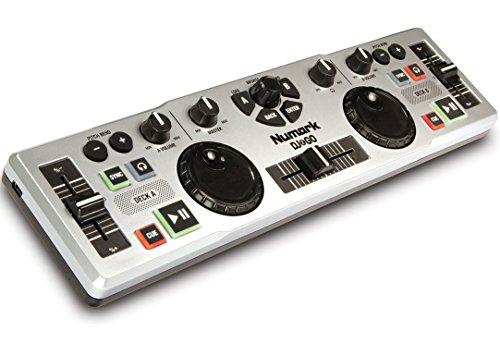 Numark DJ2GO Consolle DJ USB MIDI Ultra-Portatile per Mac e PC con Software Virtual DJ Lite