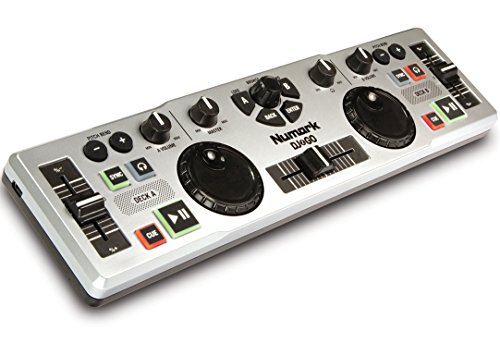 Numark DJ2GO Consolle DJ USB MIDI Ultra-Portatile per Mac e PC con Software Virtual DJ Lite