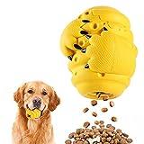 MYPIN Juguetes Interactivos de Rompecabezas para Perros, Juguetes para Masticar Perros para Alimentador Lento, Limpieza de Dientes para Perros Razas Pequeñas, Medianas y Grandes con Caucho Natural