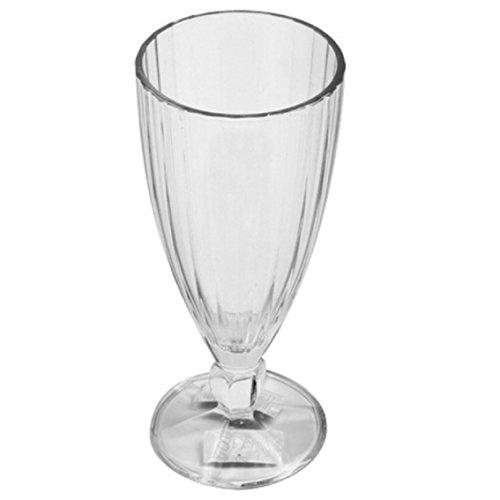 Arcoroc Lot de 6 verres à cocktail Coupe à Milk Shake 36 cl Bol à glace Macédoine Fruits Dessert Cappuccino Cocktail