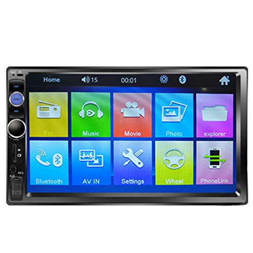 QIQIDIAN Universale 2 DIN Car Multimedia Video Lettore MP5 7'Auto Stereo Radio,7023b with 8 ir