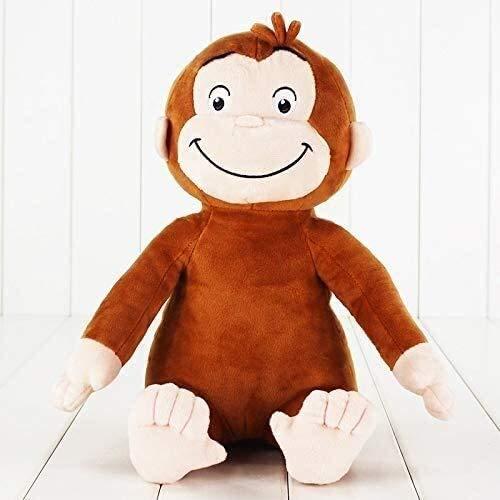 WOHAO Juguetes Animal de Peluche Los Juguetes de Felpa 1pcs Jorge el Curioso Mono de Peluche Rellenos muñeca niños Regalos 30cm
