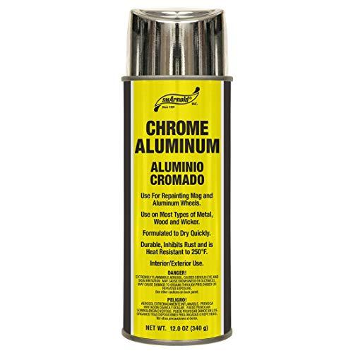 S. M. Arnold S. M. Arnold Chrome Aluminum Spray Paint, Lacquer [66-106], 12. Fluid_Ounces