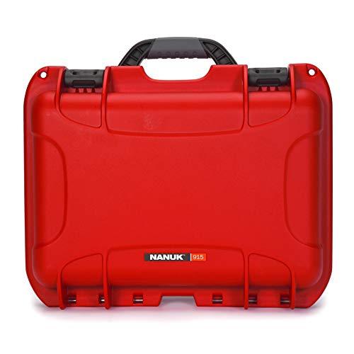 Nanuk 915 wasserdichte Hartschale mit Schaumstoffeinlage für DJI Mavic Air 2, Rot