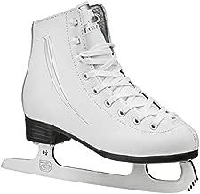 Lake Placid Cascade Girls Figure Ice Skate, White, Size 2