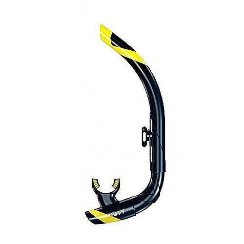 ATOMIC - SV1 Contour Schnorchel schwarz-gelb