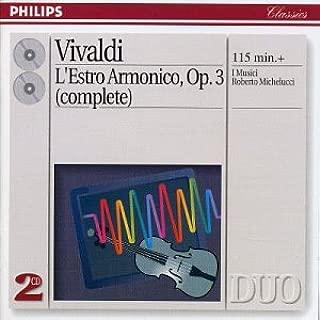 Vivaldi: L'Estro Armonico, Op. 3 Complete