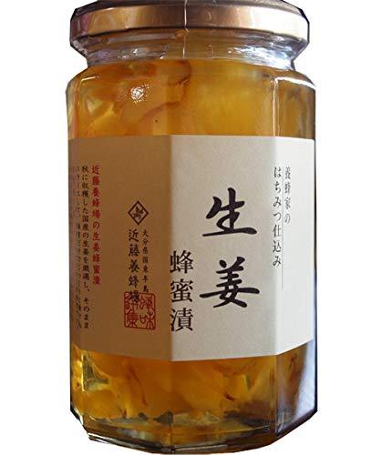 近藤養蜂場 近藤養蜂場 生姜蜂蜜漬 350g
