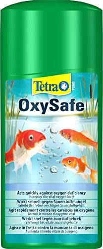 Tetra Pond OxySafe (erhöht schnell den Sauerstoffgehalt im Gartenteich, hilft bei Sauerstoffmangel), 500 ml Flasche
