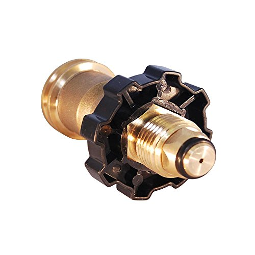 KIBOW Universal Propane Tank Adapter for Old P.O.L Style to New Style/100% Solid Brass CSA Certified