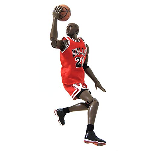KLMB 1/9 NBA Series Michael Jordan Action Figure Lakers 23 Jersey Model PVC Cartoon Statue Basketball Sports Doll Toy Decorations Ornaments Popular Gift