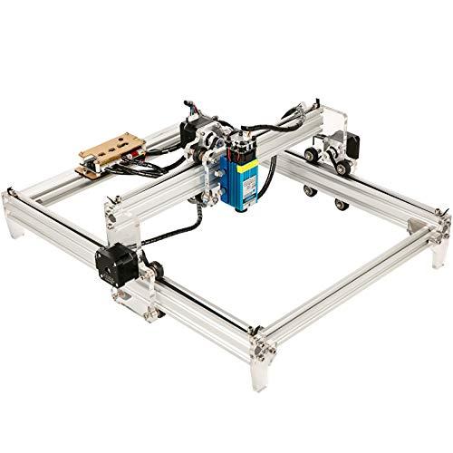 VEVOR Machine à Graver Laser CNC 3040 Kit Graveur Laser 2500mW Découpeuse 2 Axes 30x40cm DIY Tout-en-Un Contrôleur GRBL Précision 0,1mm Connexion USB Win XP Win7 Win8 Win10 pour Bois Plastique Papier