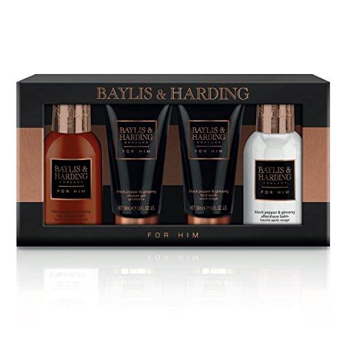 Baylis & Harding, set da viaggio al pepe nero e ginseng